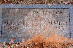 Capt Allen Benson
