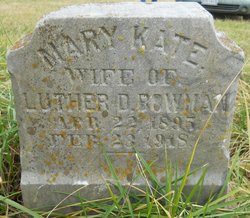 Mary Kate <i>Brunk</i> Bowman