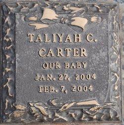 Taliyah C. Carter