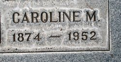 Caroline May Carrie <i>McCreary</i> Campbell