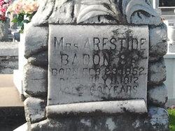 Mrs Arestide Badon