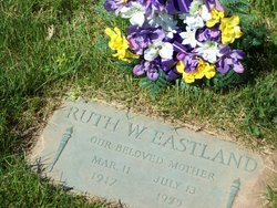 Ruth W. <i>Hawkins</i> Eastland