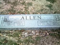 Fannie <i>Hinkle</i> Allen