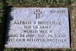 Sgt Alfred J Mitchell