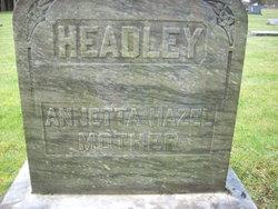 Annetta Hazel <i>Vinyard</i> Headley