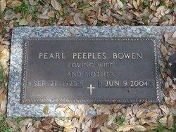 Pearl <i>Peebles</i> Bowen