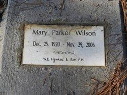 Mary <i>Parker</i> Wilson