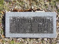 Ralph G Ambler