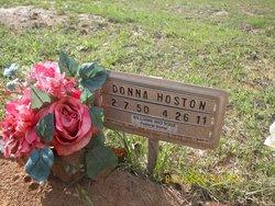 Donna Ruth <i>Hall</i> Hoston