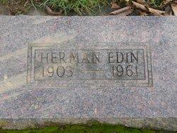 Carl Frederick Herman Edin