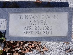Bunyan Evans Acree