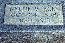 Jennette Nettie <i>McCue</i> Agee