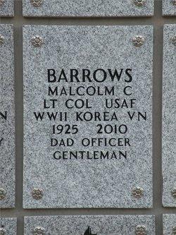 Malcolm Charles Chuck Barrows