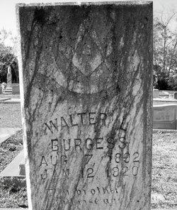 Walter L Burgess