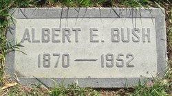 Albert E Bush