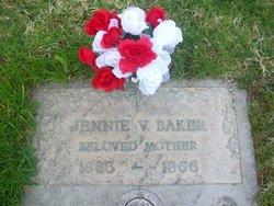 Jennie Verdra Birdie <i>Scobee</i> Baker