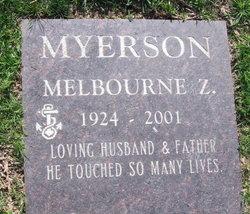 Melbourne Zallman Mel Myerson