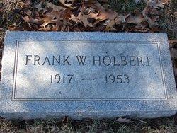 Frank W Holbert