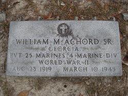 Pvt William M. Achord, Sr