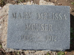 Mary Melissa Minnie Mouser
