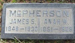 Anah W McPherson