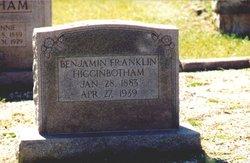 Benjamin Franklin Higginbotham