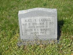 Alice V. <i>Price</i> Carroll