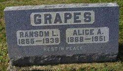Alice A. <i>Chamberlin</i> Grapes