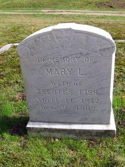 Mary L. <i>Leavitt</i> Fish