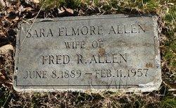 Sara <i>Elmore</i> Allen