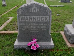 Mary Ann <i>Warnock</i> Cobb
