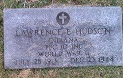PFC Lawrence E. Hudson