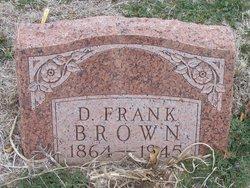 D. Frank Brown