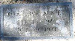 Ora <i>Love</i> Albert