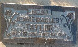 Jennie Eve <i>Magleby</i> Taylor