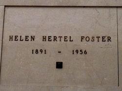 Helen <i>Hertel</i> Foster