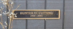 Dr Hunter O. Cutting