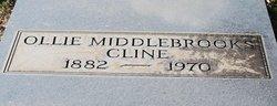 Ollie <i>Middlebrooks</i> Cline