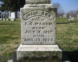 Julia Ann <i>Mitchell</i> Waugh