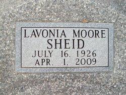 Ellen Lavonia <i>Moore</i> Sheid