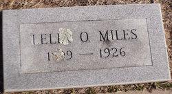 Lelia Opal <i>Lollar</i> Miles