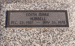 Edith Marie Hubbell