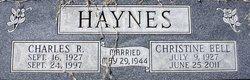 Charles R Haynes