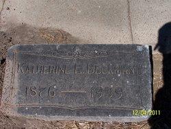 Katherine Elizabeth Kate <i>Stribling</i> Beckman
