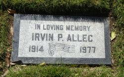 Irvin P Allec