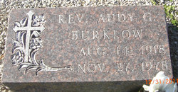 Rev Andy G Burklow