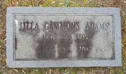 Lilla Liller <i>Gammons</i> Adams