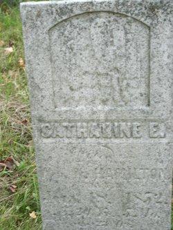 Catherine E <i>Rinehart</i> Hamilton