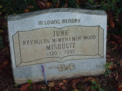 June McMenamin Wood <i>Reynolds</i> Mishultz