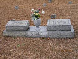 Annie Mae <i>Yancey</i> Allen